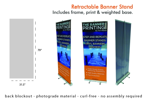 Banner Stands Step And Repeat Toronto - Vinyl banners stands